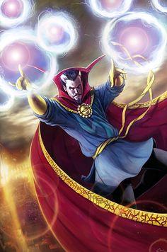 Dr. Strange, represents Waylon's overwhelming power in mystical energies.
