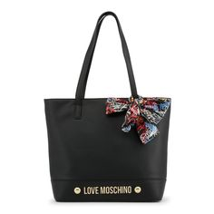 Buy Love Moschino Black Shoulder Bag for Women at Fashiontage. Simple Work Outfits, Black Shoulder Bag, Shoulder Bags, Laura Biagiotti, Versace Jeans, Luxury Bags, Michael Kors Hamilton, Moschino, Dust Bag