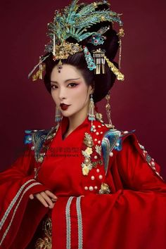 Asian Hair Accessories, Culture Clothing, Traditional Fashion, Traditional Dresses, Dress Drawing, Period Outfit, Glamour, Hanfu, Kimono Fashion