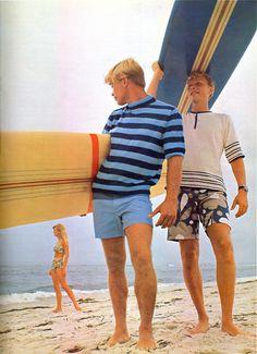 Vintage 1960s Surfer Tops