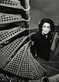 "Elizabeth Taylor on the set of ""Suddenly Last Summer,"" 1959"