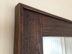 Rustic mirror - Seacoast Custom Furniture