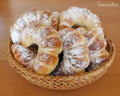 Nutellové rožky (fotorecept) Bagel, Nutella, Treats, Sweet, Food, Basket, Sweet Like Candy, Candy, Goodies