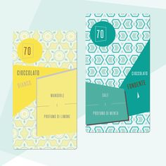 #graphicdesign #foodpackaging #chocolate #packaging #pattern grafica coordinata per il packaging del cioccolato