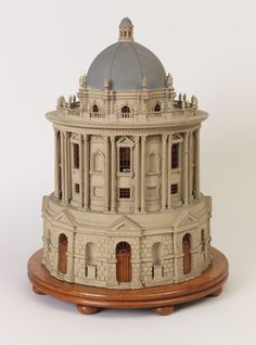replicating the radcliffe camera building in oxford england architectural model of the radcliffe camera