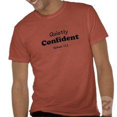 Quietly Confident Agrainofmustardseed.com Alternative Apparel Eco-Blend T-Shirt