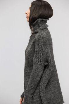 Knit sweater women, Oversize Chunky knit sweater for women , slouchy knit sweater dress , Peruvian Alpaca loose sweater , Roseuniquesyle . Knit Sweater Dress, Loose Sweater, Grey Sweater, Slouchy Sweater, Cozy Sweaters, Oversized Sweaters, Angora, Slow Fashion, Cardigans For Women