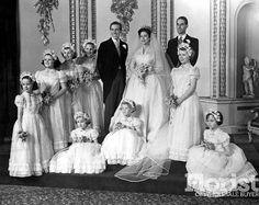 la boda de la princesa Margarita y Anthony Armstrong-Jones