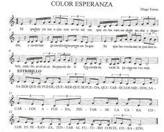 Resultado de imagen para color esperanza partitura piano ...