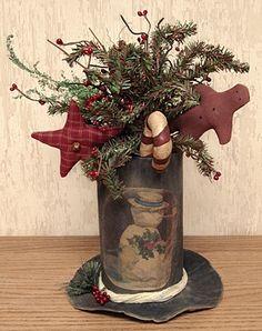 Christmas decorations for the unique