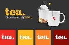 Tea Product Branding - Logo Design