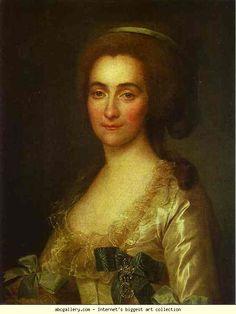 Dmitry Levitzky. Portrait of E. A. Vorontsova. 1783