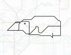 London Underground Map Art