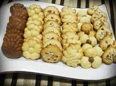 Variety of South African old fashioned biscuit recipes