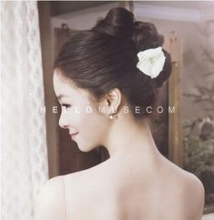 Korea pre wedding photo make-up and hair,