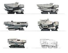 Destiny Concept Work: Cabal Tank Ideas