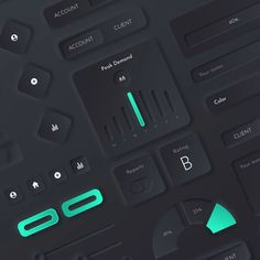 The Neumorphic UI Kit --- For Sketch, PSD, XD & Figma --- - pixel-perfect components - 15 ready-to-use screens - Light & dark components - Use in your Design Web, Minimal Web Design, Design Food, App Ui Design, Dashboard Design, Interface Design, Business Dashboard, Web Dashboard, Flat Design