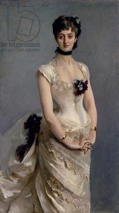 Madame Paul Poirson, 1885 (oil on canvas)