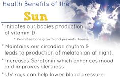 Health Benefits of the Sun - Five Little Homesteaders