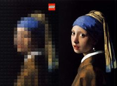 Paintings recreated using Lego bricks | Off Some Design