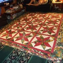 A Surprise Big Star Quilt For Crystal & Joe by Beverly Johnson /// 3rdRevolution
