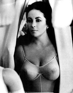 Liz white boobs