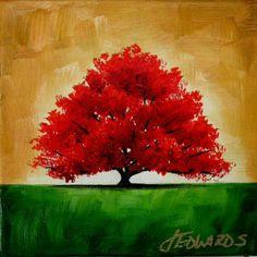 Acrylic Painting.  Texas Artist Jo Edwards!