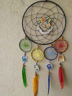http://www.instructables.com/id/Harry-Potter-Themed-Dream-Catcher/