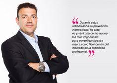 Our CEO, Josep Mª Sainz Valls // Nuestro CEO Josep Mª Sainz Valls.
