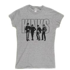 The Kinks Womens Fashion Fit T-shirt