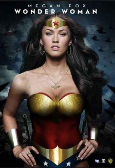Megan Fox as Wonder Woman