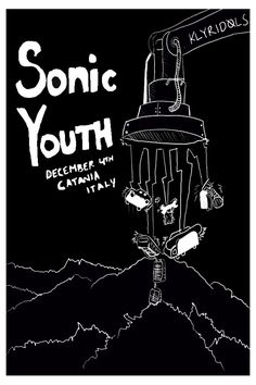 Sonic Youth Flyer