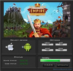 Empire Four Kingdos Hack    Today we are pleased to demonstrate to you Empire Four Kingdos Hack.If you download this tool you can be generate a rubies, gold, stone and wood. Our group guarantee a hack it working very well.  http://wazzupgames.com/empire-four-kingdos-hack-ios-download/