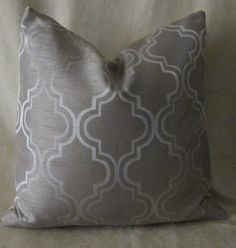Designer Pillow Cover 18 x 18  Moroccan Champange by 3BModLiving, $30.00