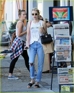 Emma Roberts Sends Her 'Work Wife' Lea Michele Some Love