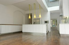 Interesting and different idea on where to place the kitchen if we ever extend the side return.