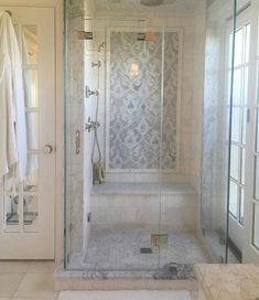 Bathroom suggestions, bathroom renovation, master bathroom decor and bathroom organization! Master Bathrooms can be beautiful too! From claw-foot tubs to shiny fixtures, they are the master bathroom that inspire me probably the most. Bathroom Renos, Bathroom Interior, Modern Bathroom, Bathroom Ideas, Bathroom Renovations, Minimalist Bathroom, Bathroom Organization, Bathroom Hacks, Budget Bathroom