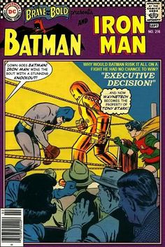 Super-Team Family: The Lost Issues!: Batman and Iron Man (Retro)