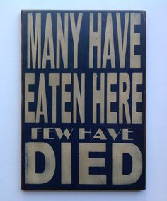 Funny kitchen  sign made from reclaimed by KingstonCreations, $30.00