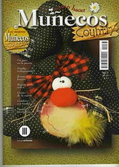 Album Archive - Muñecos Country Nº 73 Stuffed Animal Patterns, Diy Stuffed Animals, Book Crafts, Diy And Crafts, Craft Books, Sewing Magazines, Magazine Crafts, Christmas Wreaths, Christmas Ornaments