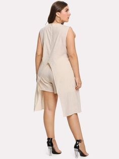 f410b1510e861 Boat Neckline Split Hem Top With ShortsFor Women-romwe Shorts Online