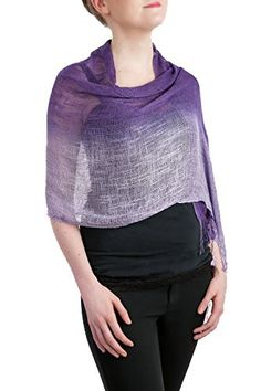 Opulent Luxury Scarf Shawl is easy to carry and great for traveling. It's the perfect gift for all occasions and seasons!