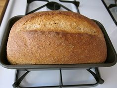 Honey Wheat Sandwich Bread -makes 1 loaf. I used freshly ground Hard Red Winter Wheat I made in my Vitamix. Honey Wheat Bread, Wheat Bread Recipe, Cooking Bread, Bread Baking, Yeast Bread, Flour Recipes, Bread Recipes, Our Daily Bread, Bread And Pastries