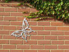Stainless steel Garden Art - Butterfly http://www.c3signs.co.uk/gardens/