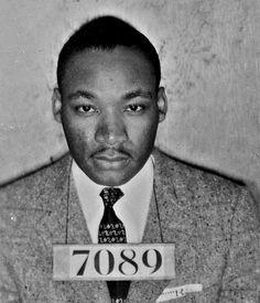 MLK Mug Shot