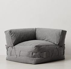 Cargo Lounge Corner Chair from RH Teen