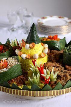 Nasi Tumpeng  #IndonesianFood