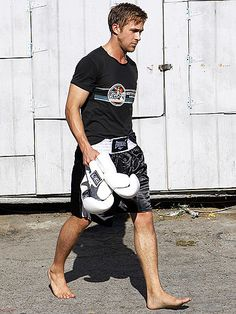 Once again, the boxer, Ryan Gosling