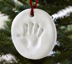 DIY: lapsen kädenjälki joulukoriste helposti taikataikinasta | Mommy & Me