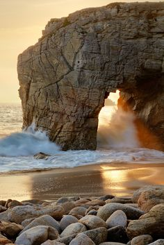 Peninsula of Quiberon - Brittany, France.